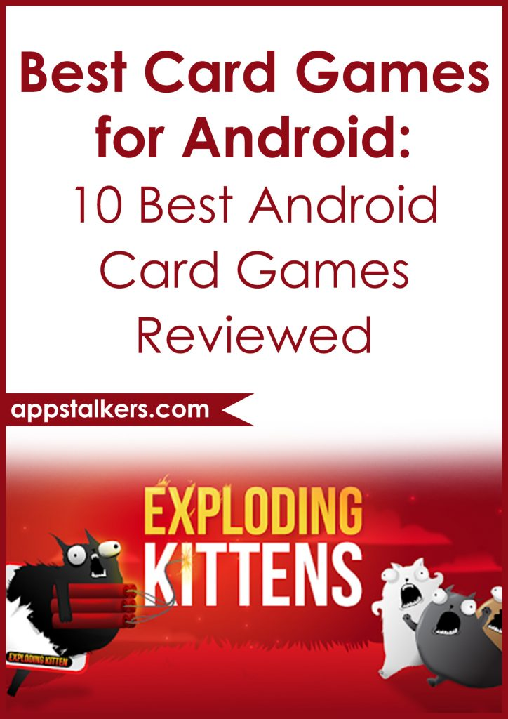 Best Card Games for Android 10 Best Android Card Games Reviewed