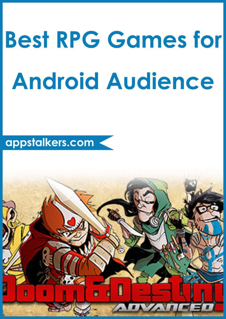 Best RPG Games for Android Audience Pinterest