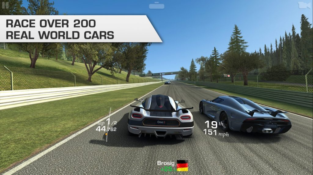 Real Racing 3 - 5 Best Car Games for Android Audience Worth Installing