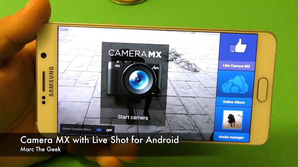Camera MX - Best Camera Apps for Android Android Audience You Must Install Them