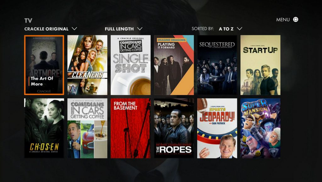 Crackle - Free Movie Apps for iPhone Audience