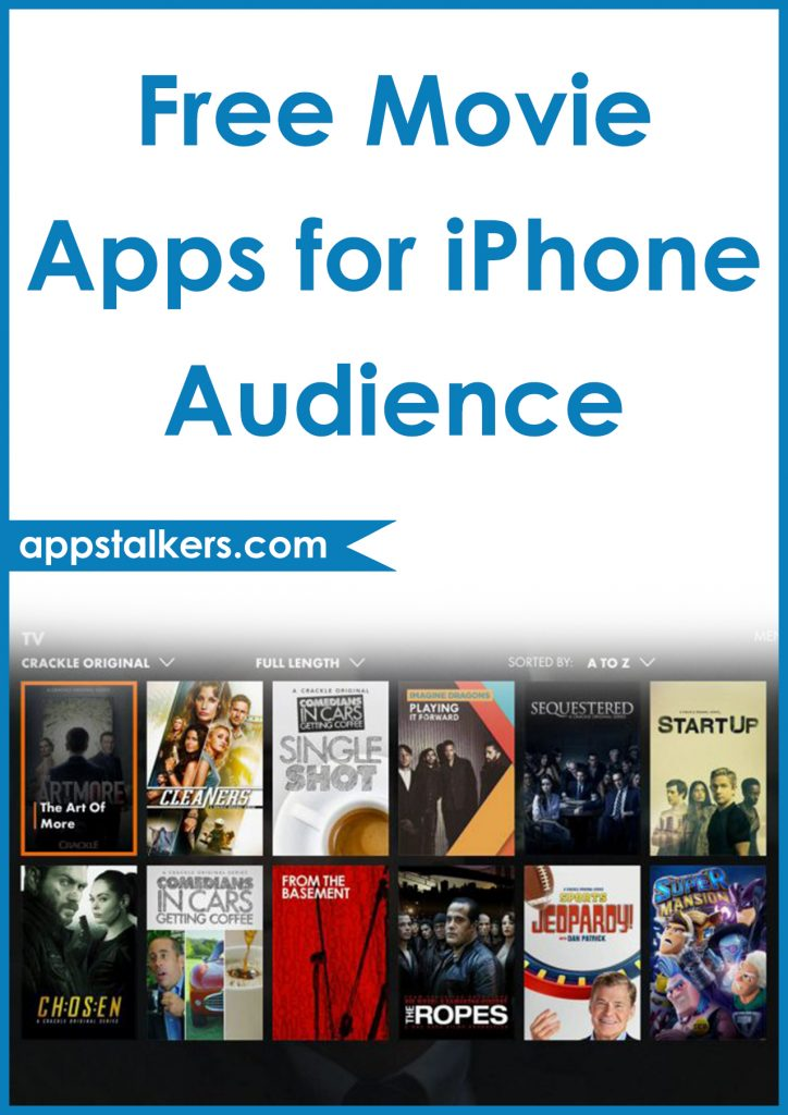 Free Movie Apps for iPhone Audience Pinterest