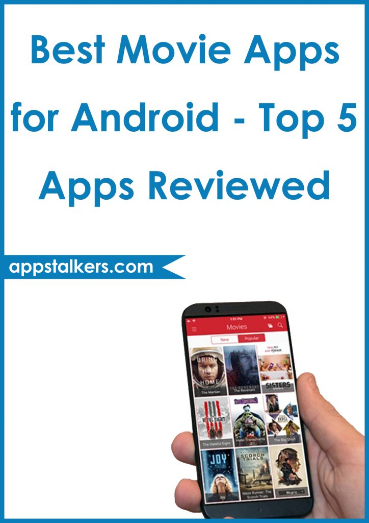 Best Movie Apps for Android - Top 5 Apps Reviewed Pinterest