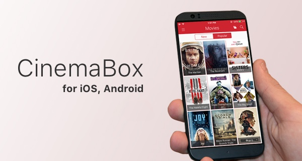 CinemaBox - Best Movie Apps for Android Audience Worth Trying
