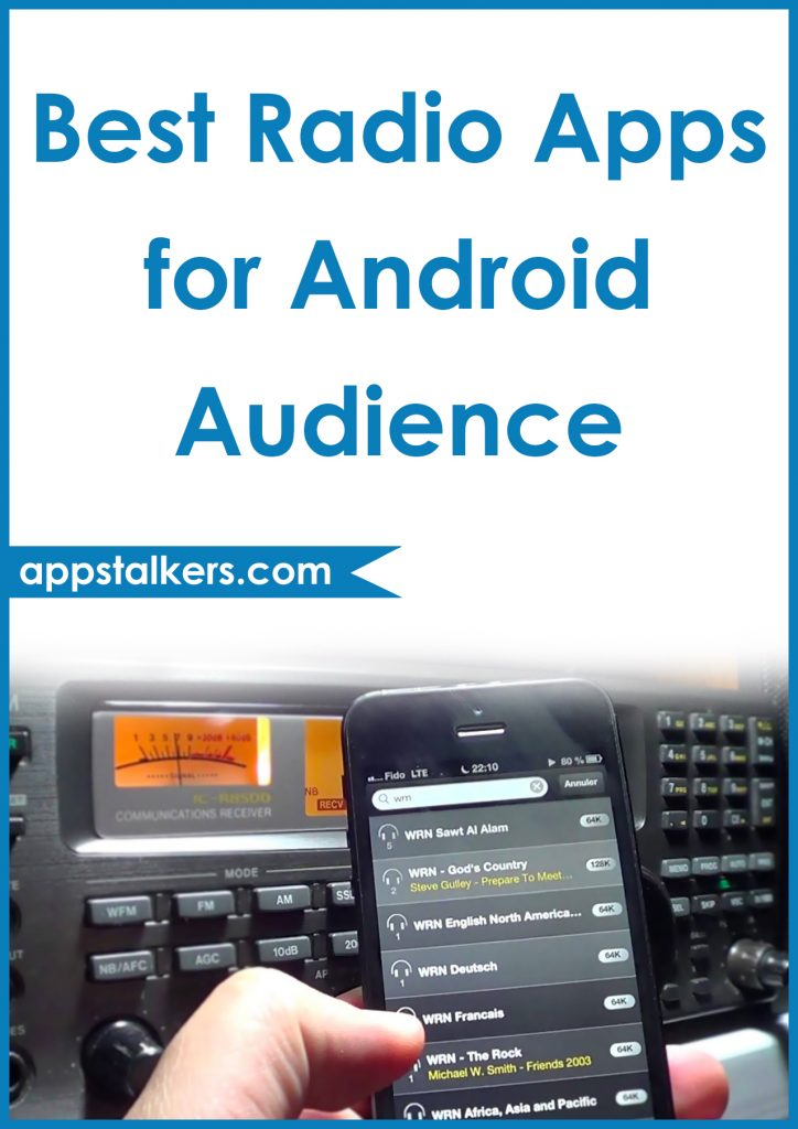 Best Radio Apps for Android Audience Pinterest