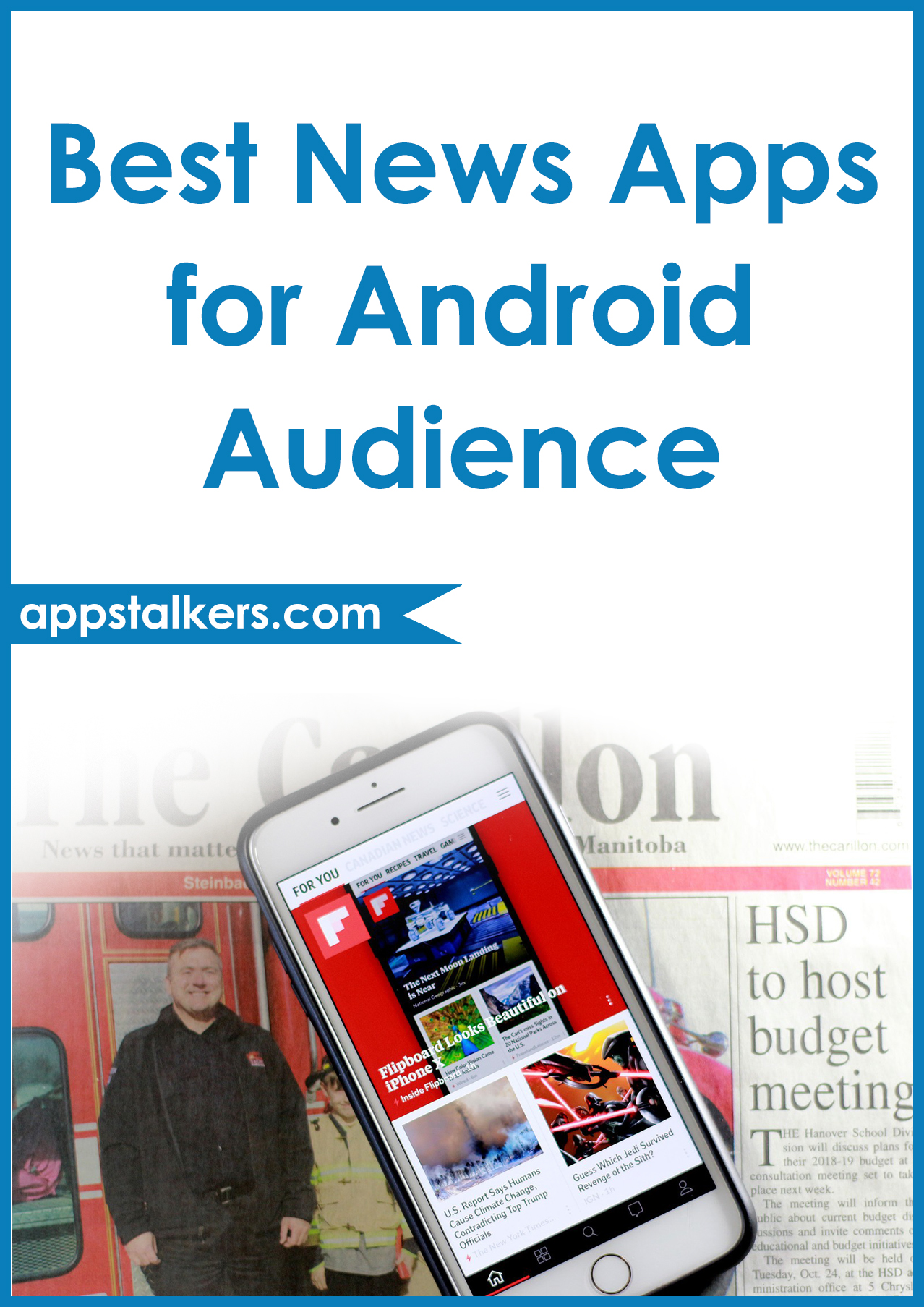 Best News Apps for Android Audience Pinterest
