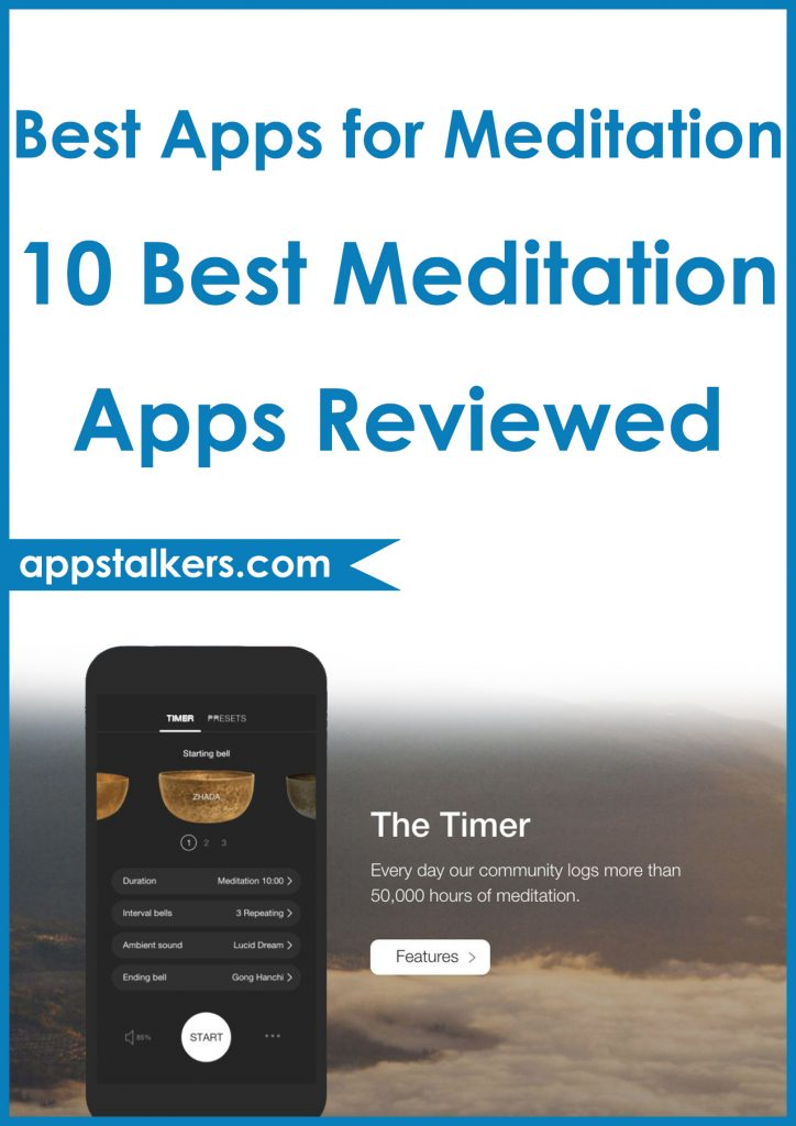 Best Apps for Meditation 10 Best Meditation Apps for 2019 Reviewed Pinterest