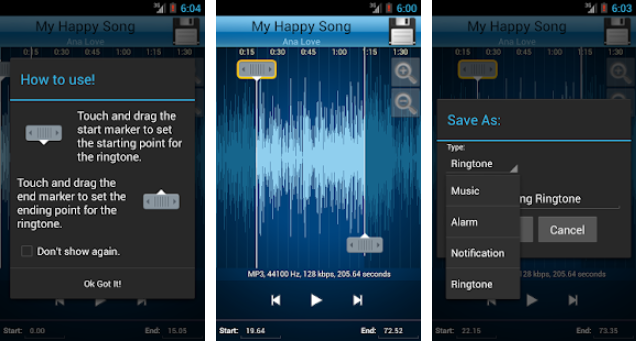 MP3 Cutter and Ringtone Maker  - Ringtone Apps for Android 5 Best Apps for Making Ringtones