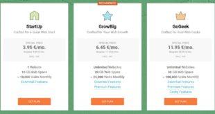 SiteGround Web Hosting Plans - Best Hosting Site for Blogs