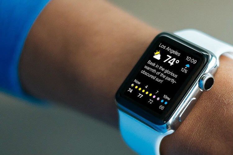 Weather - Best Apple Watch Apps Review