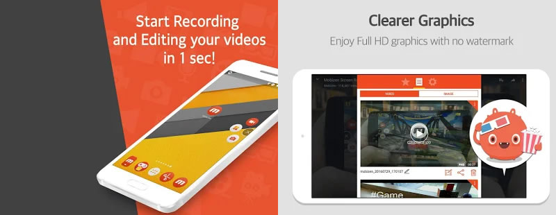 Mobizen - Best Screen Recorder Apps for Android & iPhone Devices