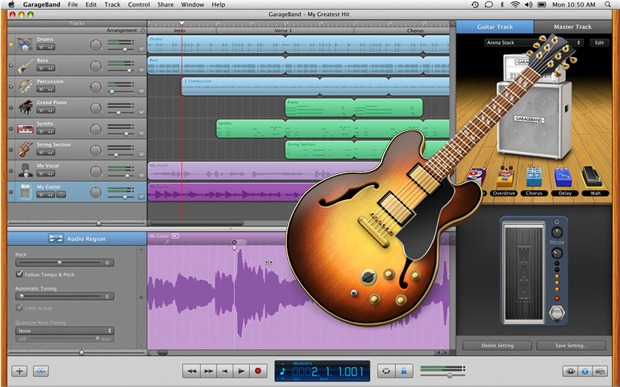 Garage Band - Best Music Making Apps for Android and iPhone Devices