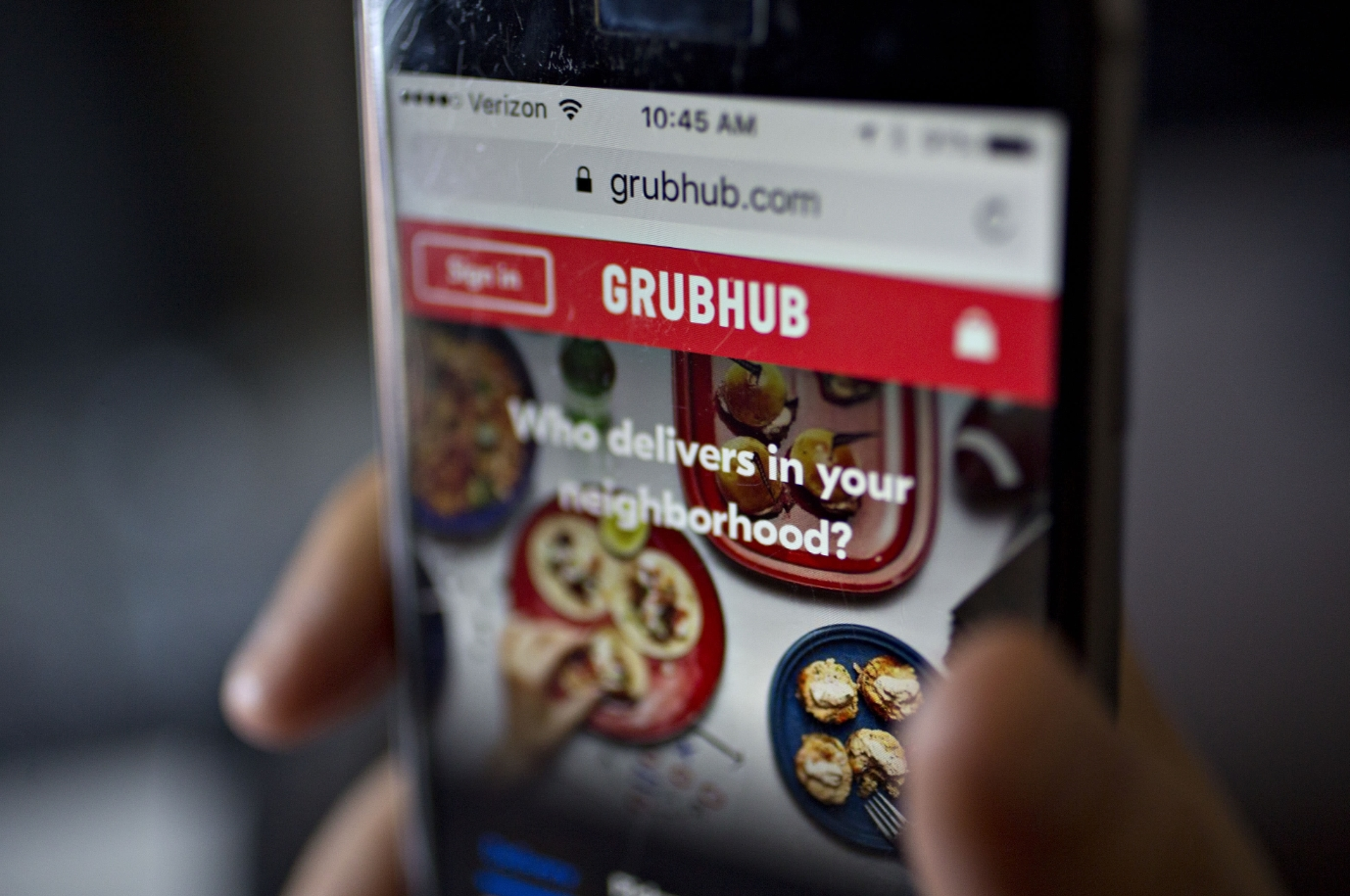 Grubhub - Best Food Delivery Apps for Android & iPhone Devices
