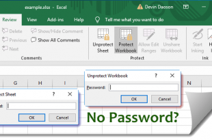 How To Remove Passwords From Excel