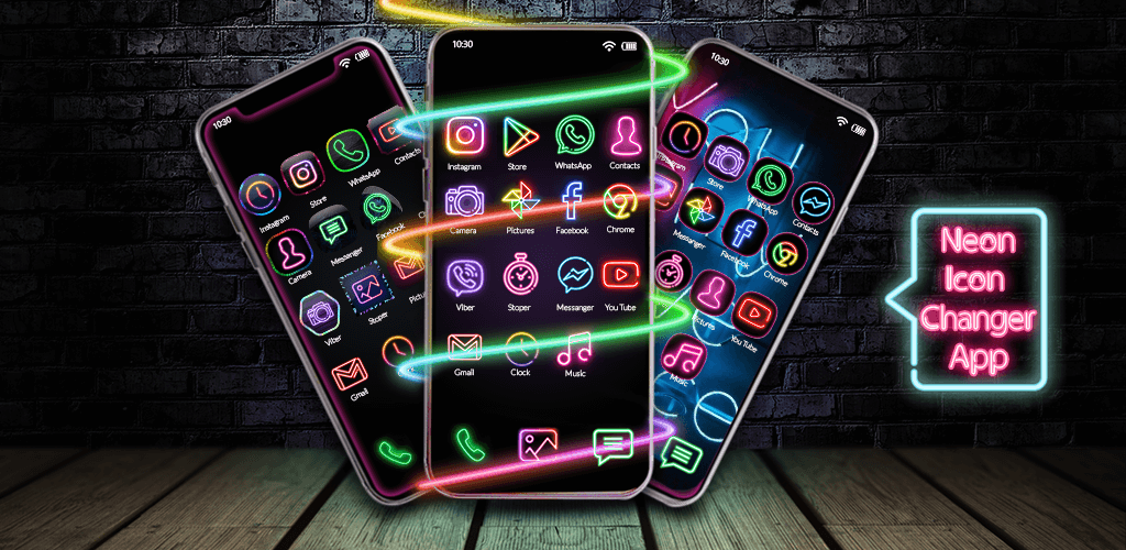Neon Icon Changer - How To Change Icons on Android Without Launcher