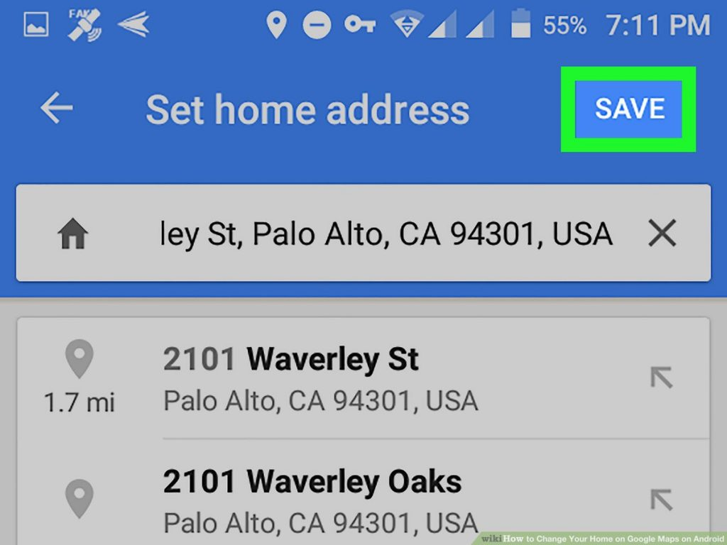 How to Change Home Address in Google Maps on an Phone