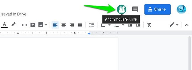 How to Purposely Change Your Anonymity оn Google Docs